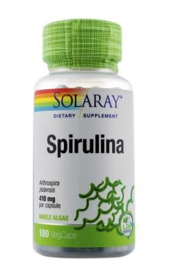 Complément alimentaire SOLARAY - Spirulina