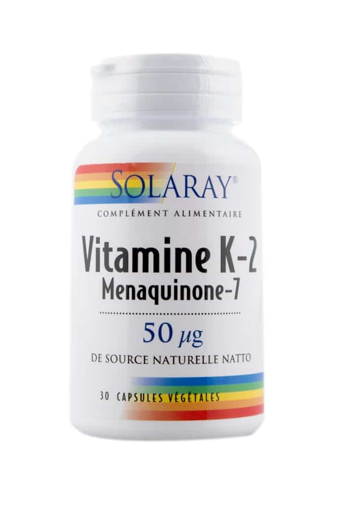 Complément alimentaire SOLARAY – Vitamine K2